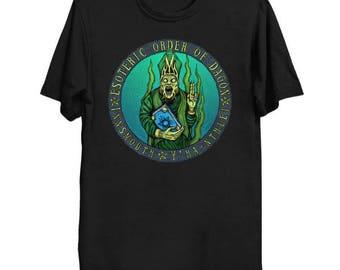 EOD Innsmouth - Cthulhu Shirt HP Lovecraft T-Shirt Cthulhu Tee Call of Cthulhu Esoteric Order of Dagon Shirt