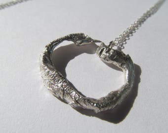 Sterling Silver Necklace - Natural Form