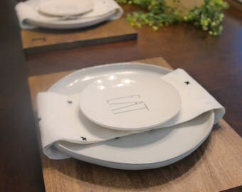 Personalized Plate Charger