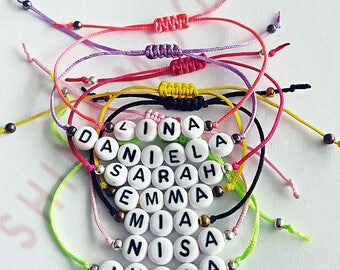 Personalized Custom Handmade Name Bracelet