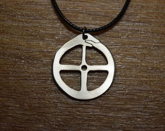 Pagan sun cross etsy sun cross solar cross norse witch pagan heathen odin asatru viking germanic solar wheel hand forged aloadofball