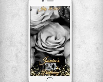 20th birthday snapchat geofilter Birthday snapchat filter Birthday 20th Birthday geofilter Birthday party snapchat filter Birthday geotag