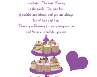 Mummy Mothers Day Card 2