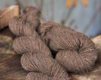 Handspun Manx Sheep wool 2 ply
