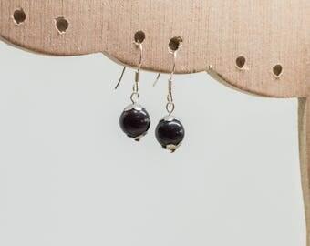 Black Obsidian earrings