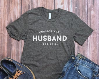 World's Best Husband Shirt - Husband Gift - Gift from Wife - Men's Shirt - Valentine's Gift for Him - Husband Tee - Mens Tee - Best Hubby