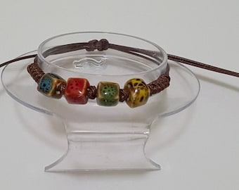 Retro handmade fashion ceramic Lucky Bracelets-Adjustable K1