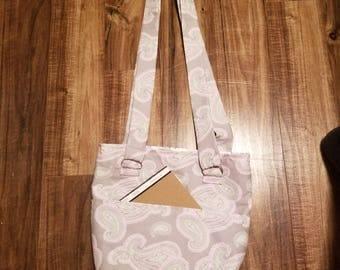 Paisley Handbag gray/pink