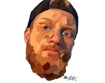 Custom Digital Portrait Commission