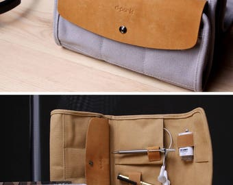 Special Agent Travel Organizer Unique Functional Handbag Travel Wallet Passport Holder Travel Bag Organizer Witty Novelty