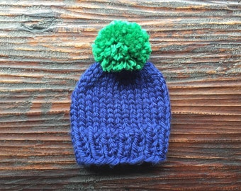 """Baby """"Classic Super Bulky Knit Hat"""""""