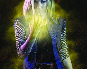 Android 18 Dragon Ball Z DBZ Cosplay Print 8x10 Glossy Signed - Viverra Cosplay