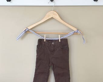 24 Month Knee Pad Skinny-Fit Chinos + Back Pockets