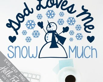 Christmas Svg, God Svg, Faith Svg, Snowman Svg, Love Svg, Dxf, Jpg, Svg files for Cricut, Svg files for Silhouette, Vector Art, Clip Art