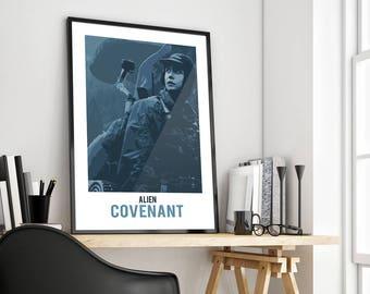 Alien Covenant | Daniels | Poster Print Design | A0 A1 A2 A3 A4