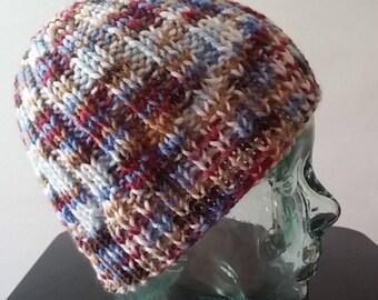 Multi-color ski cap