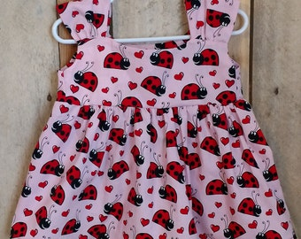 Toddler sundress,baby sundress,mermaid dress,hedgehog dress,ladybug dress, simple dress,summer dress, birthday dress, party dress,