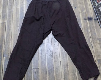 1960s Brown Stretch/Stirrup Pants