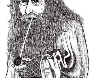 Gandalf Medium Print