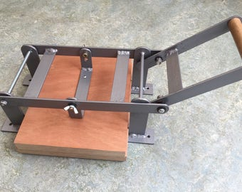 A4-size hand lino press, lino cut press, heavy duty, steel, US letter size