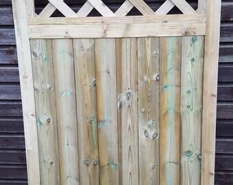 Trellis Style Garden Gate.