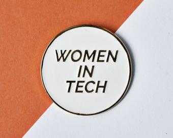 Women in Tech Enamel Pin