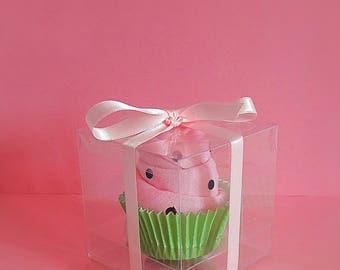 Watermelon baby vest cupcake