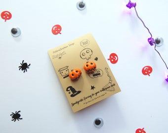Spookyrrific Earrings for your Halloween Look, Halloween Costume Earrings Pumpkins, Fall Jewelry Earrings, Earring Kids Halloween Costume