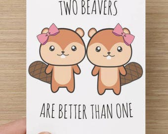 Two Beavers are Better than One | Valentine's Day | love | lgbtq | how i met your mother | funny | cute