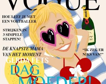 Custom Portrait Magazine Cover