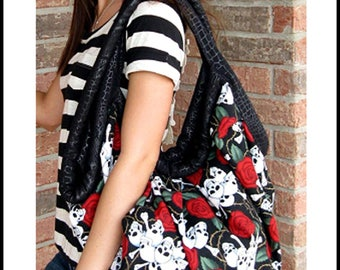 Stephanie Bag Sewing Pattern by Sisters Common Thread.