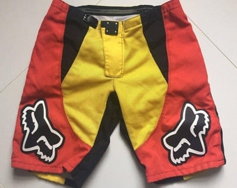 FOX RACING Motocross DH Mountain Bike Shorts size 36