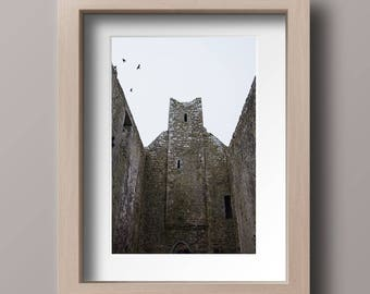 Irish Church Photography Print. Oversized Art Print.