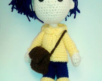 Crocheted Coraline