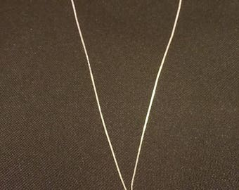 Butterfly wing necklace set in Sterling silver