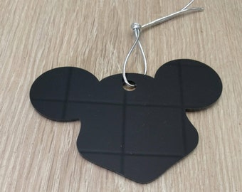 baby gift, baby garland, stroller decor, stroller chain, perspex toys, mickey mouse