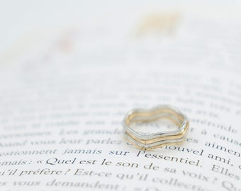 Elegant Stackable Rings