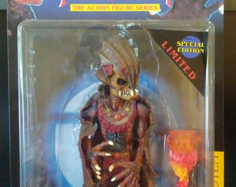 Puppet Master The Totem Action Figure, Special Limited Edition with cape, Full Moon Toys Catalog #6004