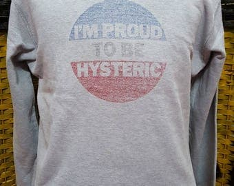 Vintage HYSTERIC GLAMOUR / i'm proud to be hysteric / small size sweatshirt (F26)