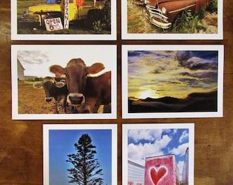 Vintage Rural Scenes Note Cards