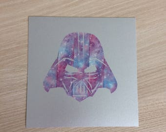 Star Wars Darth Vader star cosmos card