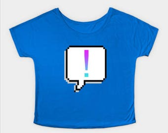 Slouchy Exclamation Point Tee