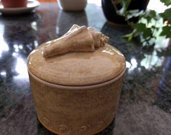 Handmade Ceramic Trinket Box
