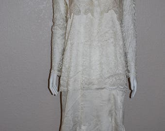 Vintage Early 1900's Inspired Wedding Dress