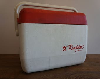 Vintage Cooler Lunch Tote Revaltation by Gott, Lunch Box, Camping Cooler, Tailgating