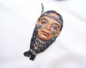 Handmade Indian head