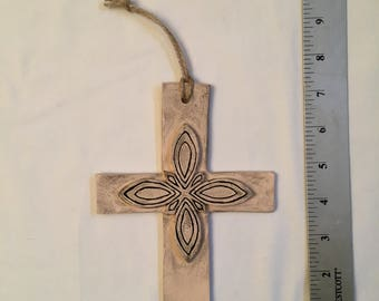 Ceramic Layered Cross
