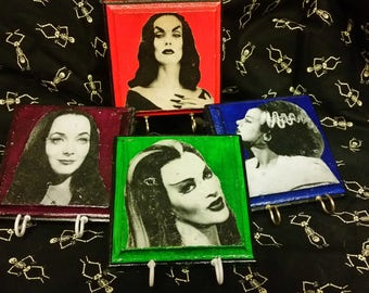 Women of Horror Collection Key Holders