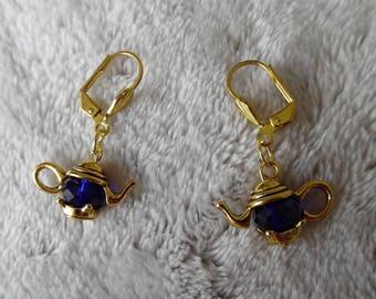 teapot shaped earrings