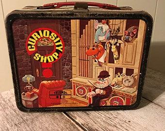 1970s Curiosity Shop Lunchbox
